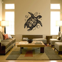 Sea Turtle Vinyl Wall Art Decals