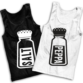 Salt 'n' Peppa Best Friends Tank Tops