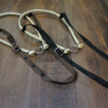Rope Noseband with Clear Tube