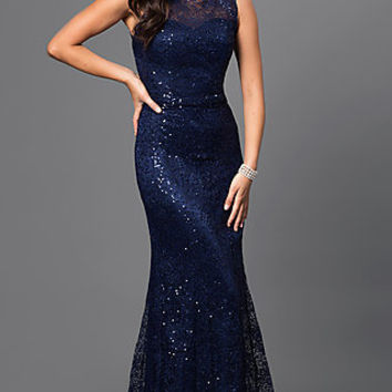 Dresses, Formal, Prom Dresses, Evening Wear: MF-E1822