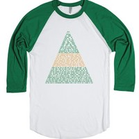 Buddy the Elf Quotes-Unisex White/Evergreen T-Shirt