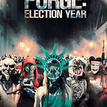 Frank Grillo & Elizabeth Mitchell & James DeMonaco-The Purge: Election Year
