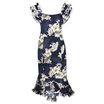 blueberry hawaiian meaaloha dress