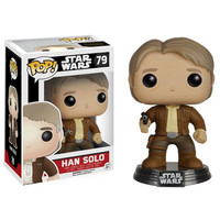 Han Solo Star Wars Force Awakens Bobble-Head Pop Vinyl Figure