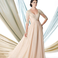 Mother of the Bride Dresses – Montage by Mon Cheri 114923 Chiffon Lace