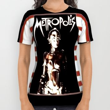 metropolis 3 All Over Print Shirt by Kathead Tarot
