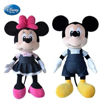 Disney New Cowboy Mickey Mouse Cowboy Mickey Mouse Doll Boy Girl Child Birthday Gift Disney Toy