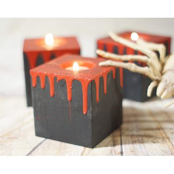Blood Drip Candles, Halloween Decor Scary