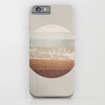 SEA CIRCLE iPhone & iPod Case by Theo Beck