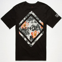 Asphalt Yacht Club Nyjah Huston Diamond Paradise Mens T-Shirt Black  In Sizes