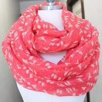 Infinity Birds print    scarf  great accessory for your outfit