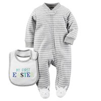 "Baby Boy Carter's ""My First Easter"" Sleep & Play Set"