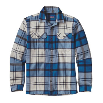 PATAGONIA MENS LONG SLEEVE FJORD FLANNEL SHIRT
