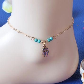 Shiny New Arrival Jewelry Ladies Stylish Sexy Gift Cute Simple Anklet [8080499783]