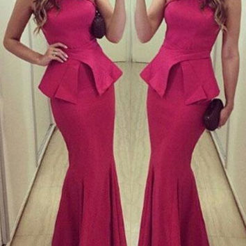 Special Designe Off Shoulder Halter Taffeta Mermaid Prom Dresses Cheap Sexy Long Court Train Evening Party Gown Free Shipping