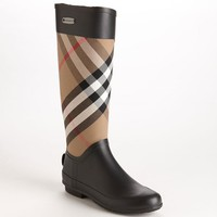 Women's Burberry 'Clemence' Rain Boot,