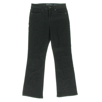 Style & Co. Womens Petites Tummy Control High Waist Bootcut Jeans