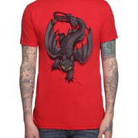 How To Train Your Dragon Night Fury X-ing T-Shirt