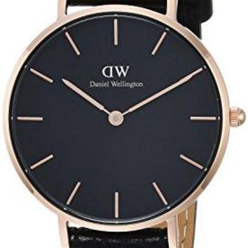 Daniel Wellington Classic Petite Reading in Black 32mm