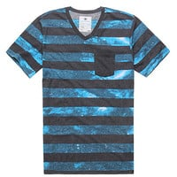 On The Byas Space Stripe V-Neck Tee at PacSun.com