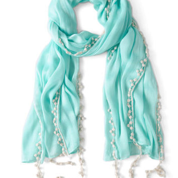 ModCloth Pastel Mint to Be Scarf