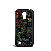 one direction song Samsung Galaxy S4 Mini Case