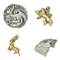 The Game of Thrones Pin Set