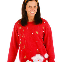 Stuff My Stocking with Toiletries Ugly Christmas Sweater