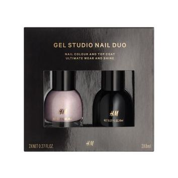 Gel nail color and top coat - Curl up with me - Ladies | H&M CA