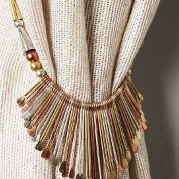 Diadem Tieback by Anthropologie in Antique Brass Size: One Size Hardware