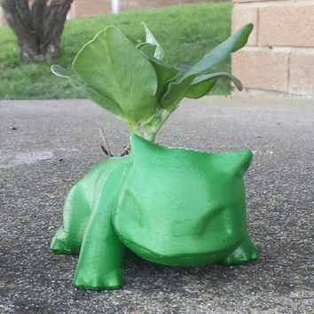 Ivysaur Planter Pot 3D Printed