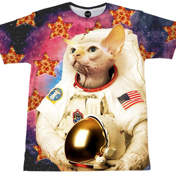 Astronaut Cat T-Shirt
