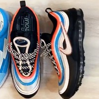Nike Air Max 97 Neon Seoul New fashion couple sports leisure shoes Black