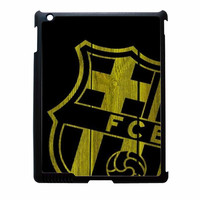 Barcelona FC Wood iPad 2 Case