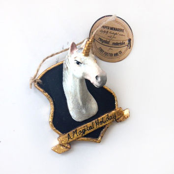 Unicorn Mount Ornament