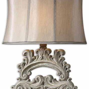 Table Lamp - Champagne Shade