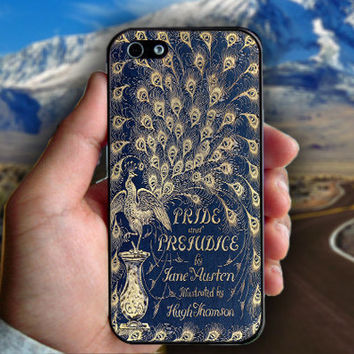 Cover Book Jane Austen - Print on hard plastic case for iPhone case. Select an option