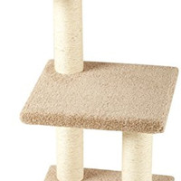 Basics Cat Tree with Scratching Posts - Medium
