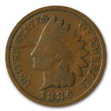 1886 Indian Head Cent Type 2 Good