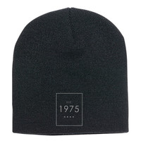 The 1975 Embroidered Knit Beanie