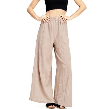 Indie Cotton Wide Leg Pants