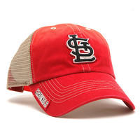 St. Louis Cardinals Mongoose Mesh Back Adjustable Cap by '47 Brand - MLB.com Shop