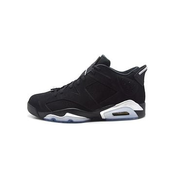 spbest Air Jordan 6 Low  Chrome