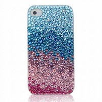 Glitter Ombre Faded Rhinestone Handmade Phone Case by Pomelo on Zibbet