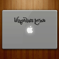Wingardium Leviosa Harry Potter Inspired Vinyl by DecalLab
