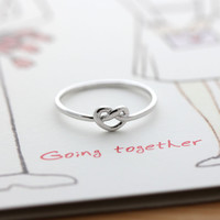 girlsluv.it - tiny KNOT HEART ring, 3 colors