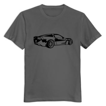 Organic Cotton Corvette men t-shirt Hot Selling Exercise boys tees shirt