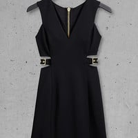 Black Express Edition Cut-out Dress from EXPRESS