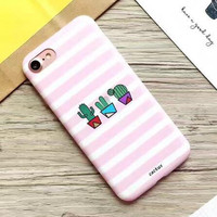 Top Quality Straps Cactus Case Multiple Protection Cover for iPhone 7 7 Plus & iPhone 6 6s Plus + Gift Box55