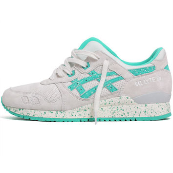 Gel-Lyte III 'Maldives' Sneakers Lily White / Aqua Green
